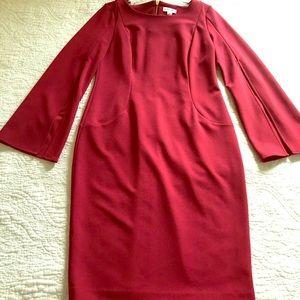 Burgundy Calvin Klein Dress